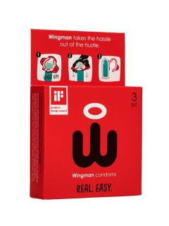afbeelding Wingman condooms - 3 stuks