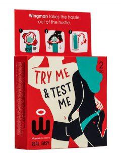 afbeelding Wingman condooms - 2 stuks