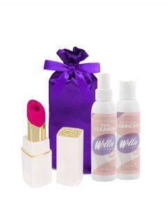 afbeelding Womanizer 2GO (Wit) voordeelpakket