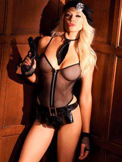 afbeelding BeWicked slaapkamer politie-uniform (Maat: S/M)