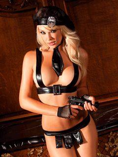 afbeelding BeWicked Undercover politieagente set (Maat: S / M)
