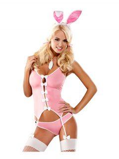 afbeelding Obsessive - konijn kostuum (Maat: L/XL)