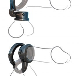 afbeelding Ironman duo-ring black