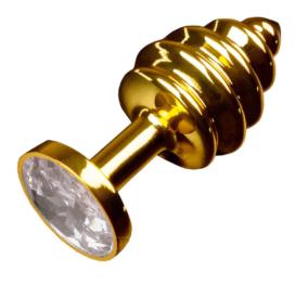 afbeelding Jewellery ribbed gold diamond