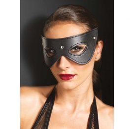 afbeelding Kunstleren masker met studs
