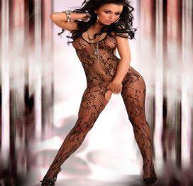 afbeelding Eden Catsuit - Zwart