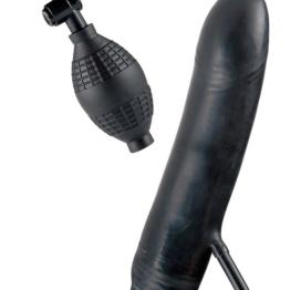 afbeelding Opblaasbare vibrerende dildo bob the blower