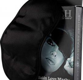 afbeelding Satin Love Mask