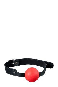 afbeelding Siliconen ball gag (Kleur: Rood)