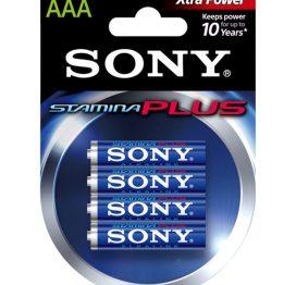 afbeelding SONY AAA batterijen 4 stuks