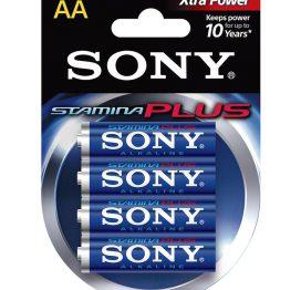 afbeelding SONY Alkaline AA Extra Power 4 stuks