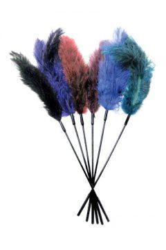 afbeelding Struisvogelveren kietelaar (Kleur: zwart)