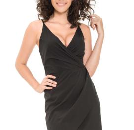 afbeelding Wrap-over dress